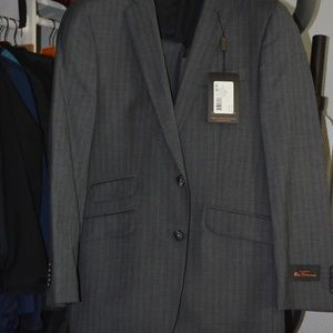 Ben Sherman slim skinny 2-piece suit BNWT grey